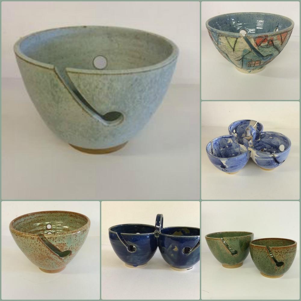 Wendy Fowler Yarn Bowls