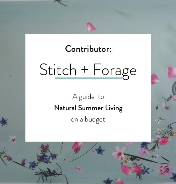 Stitch+Forage Preorder