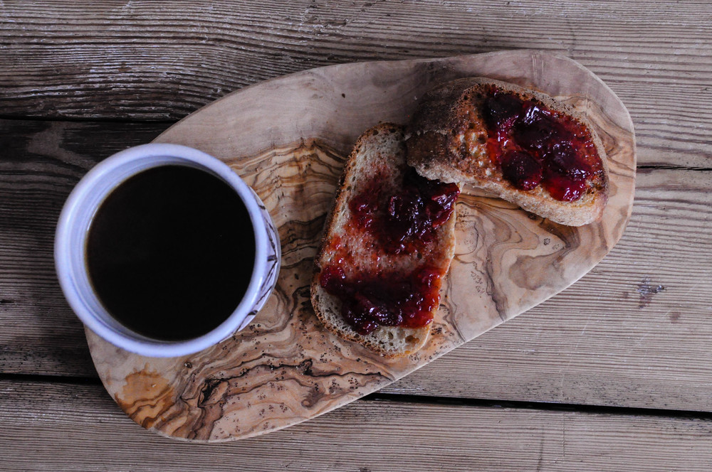 Strawberry and Pimms jam