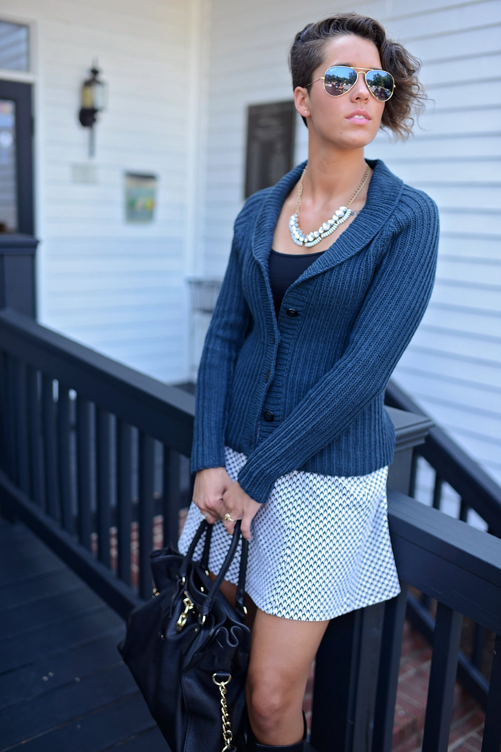 Scholar Cardigan by Kate Oates of Tot Toppers