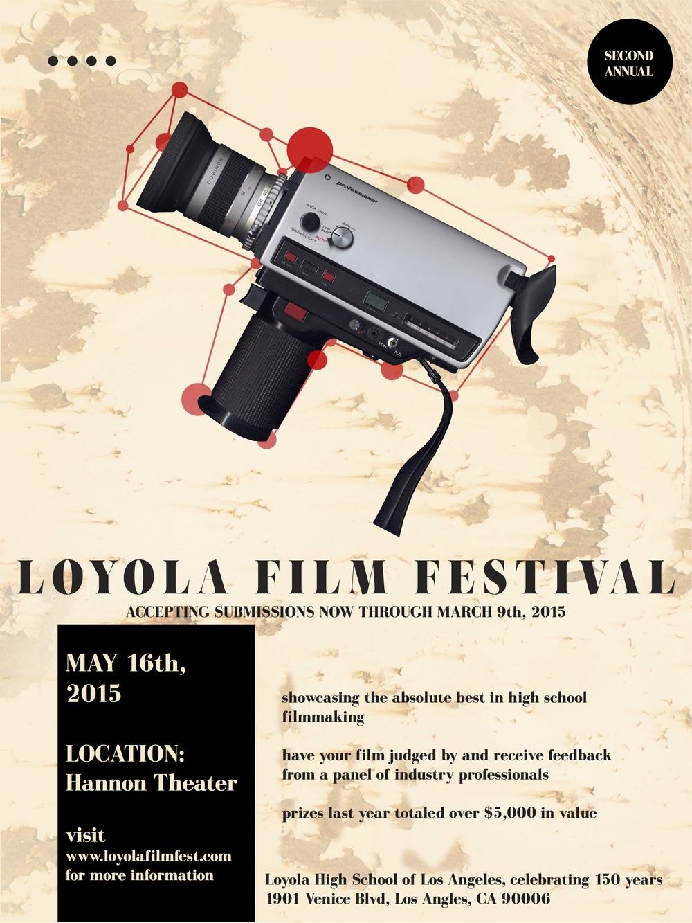 Loyola Film Fest Poster