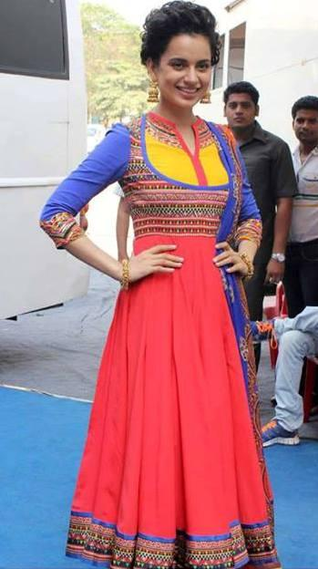 Kangana Ranaut in Indian by Manish Arora