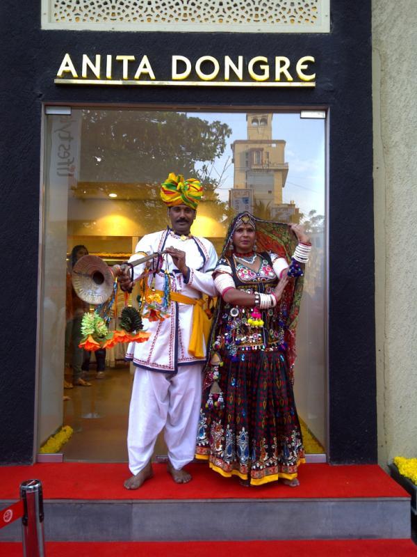 Anita Dongre's Bridal Store Launch at High Street Pheonix