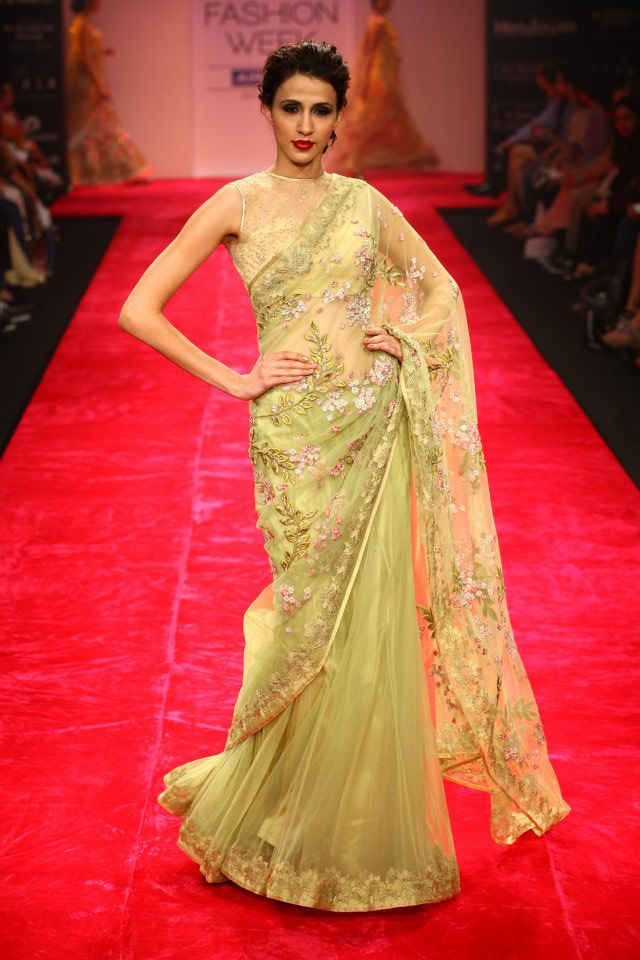 Fashion style Jaikishan Bhairavi lfw winter festive for woman