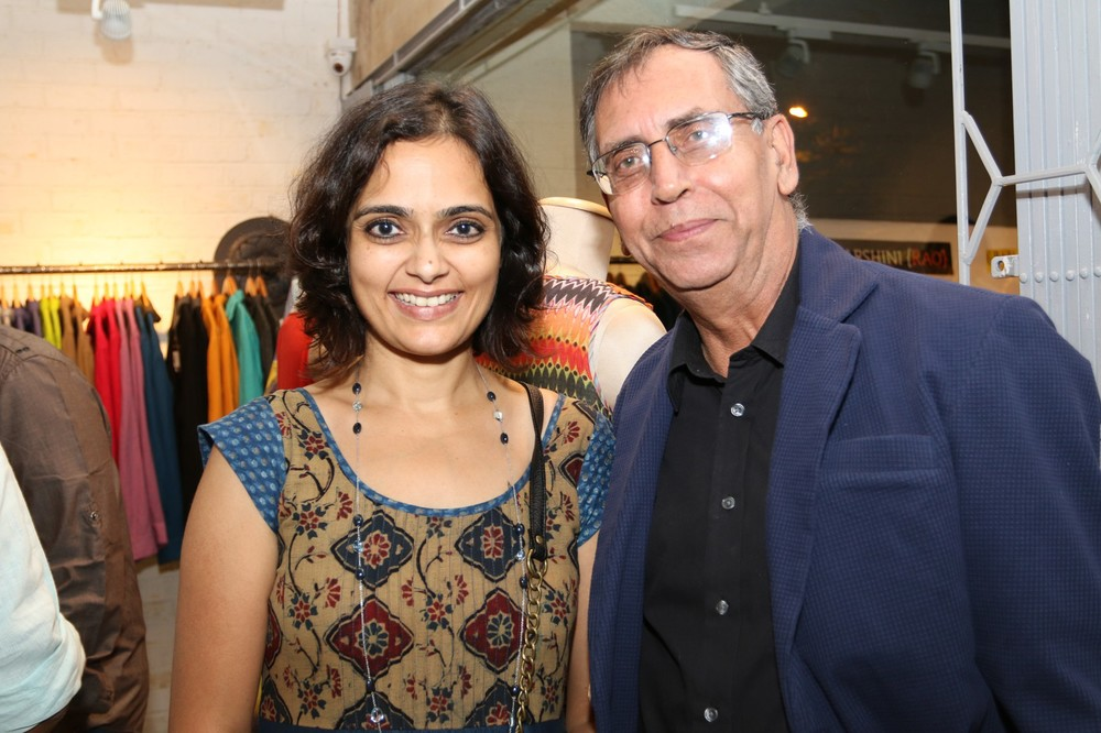Priyadarshini Rao with Anil Chopra