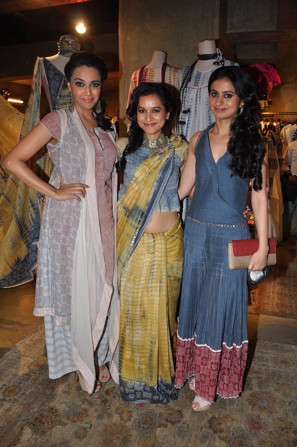 Swara Bhaskar, Tilottama and Rasika Duggal