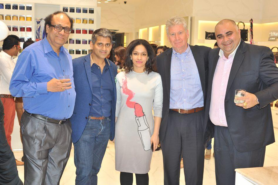 Dilip Sen, Sanjay Kapoor, Masaba Gupta, Stewart Beck and Sanjeev Mehra