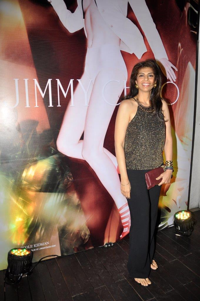 Zeba Kohli carrying Jimmy Choo Chandra
