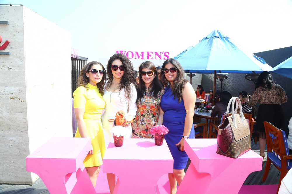 Guest at the DLF Emporio Women's Day Brunch
