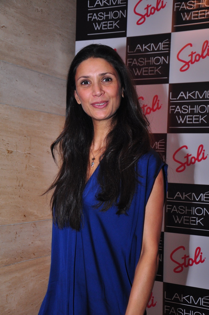 Mehr Jesia at the Stoli Lounge at Lakme Fashion Week.JPG
