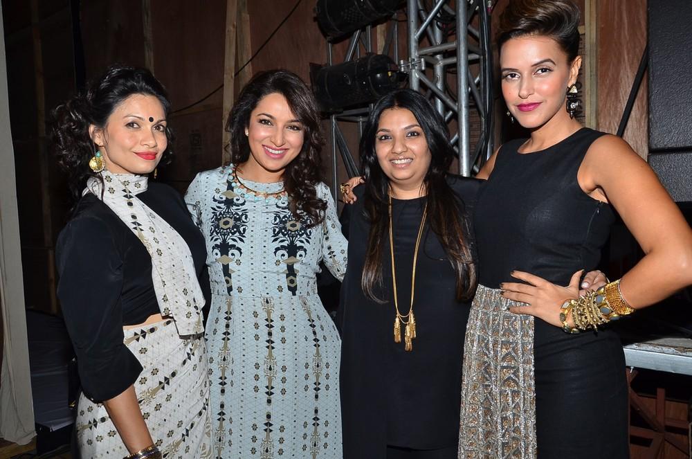 Maria Goretti, Tisca Chopra, Payal Singhal and Neha Dhupia