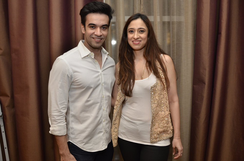 Shehla Khan with Punit Malhotra