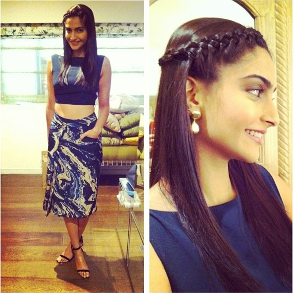 Sonam Kapoor in Mirage by Parul and Eina Ahluwalia