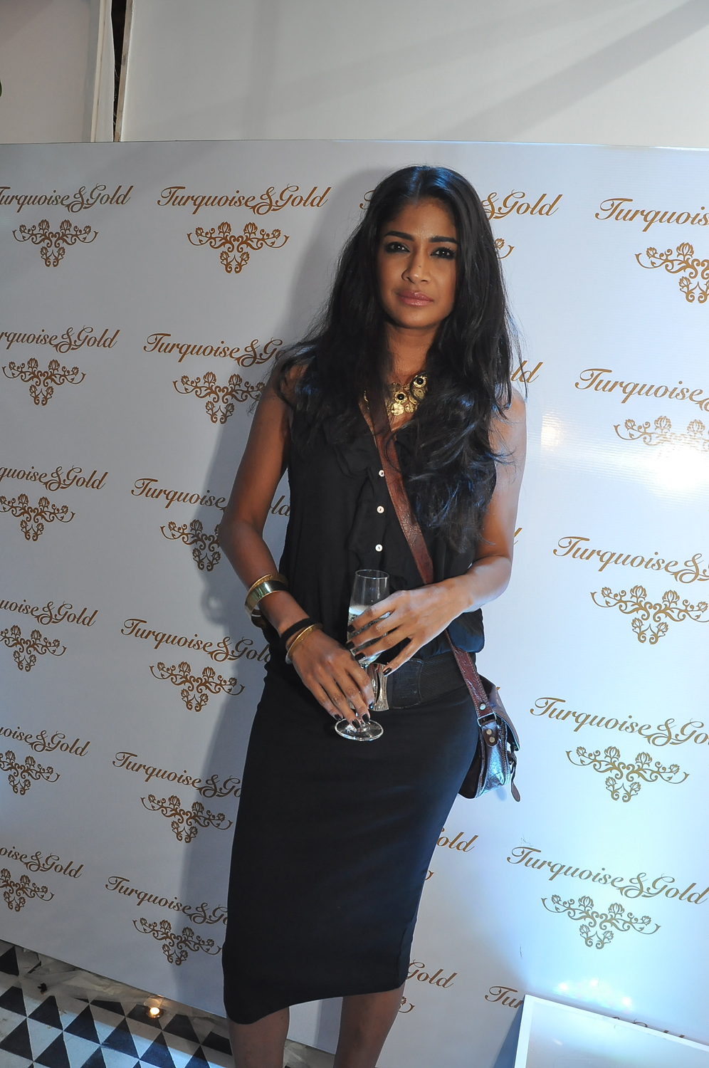 Model Carol Gracias at the T&G launch.JPG