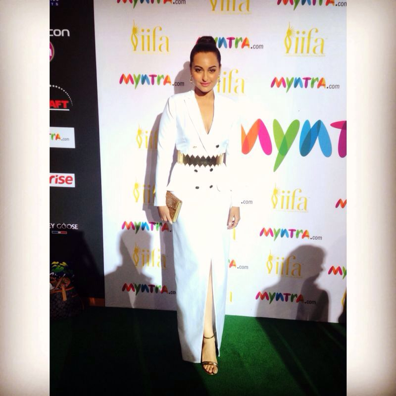 Sonakshi Sinha in Nikhil Thampi and Jimmy Choo
