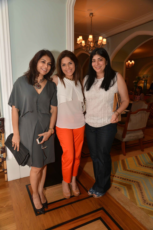 Deepika Gehani, Geeta Bubber, Manisha Gandhi