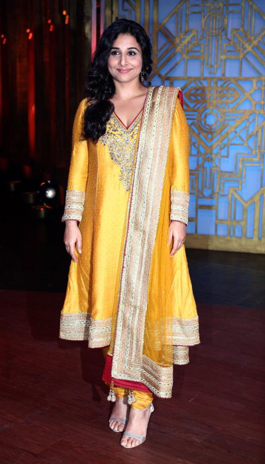 Vidya Balan in Ritu Kumar