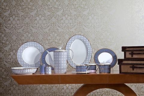 Platinum decorated Fine Bone Chinaware