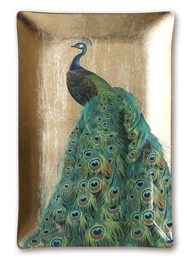 Peacock Tray