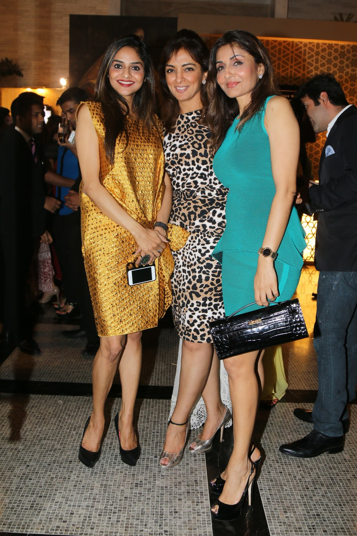 Madhu Shah, Lata Patel and Queenie