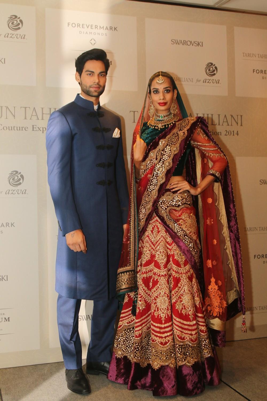 Tarun Tahiliani Bridal Couture Exposition 2014