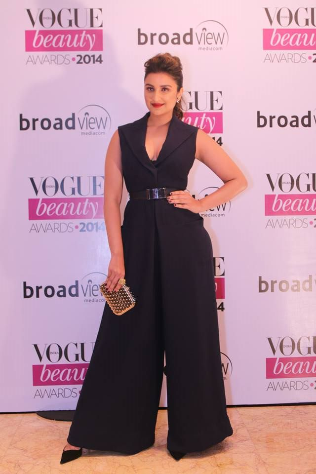 Parineeti Chopra in Dior at the Vogue Beauty Awards 2014