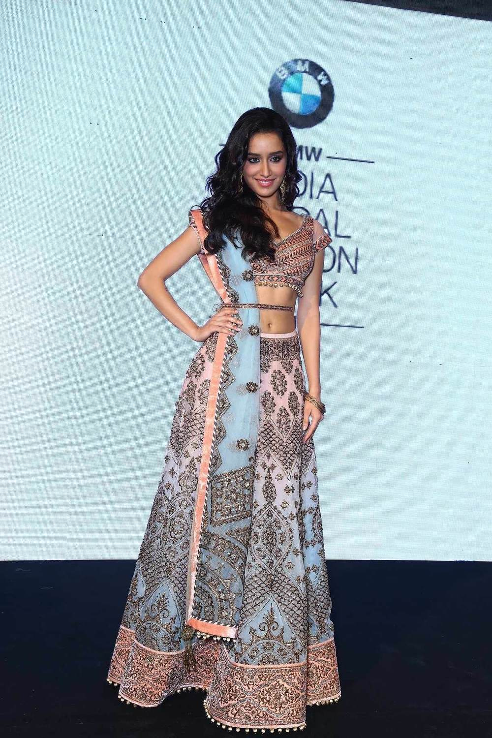 Shradhha Kapoor in a stunning JJ Valaya creation.