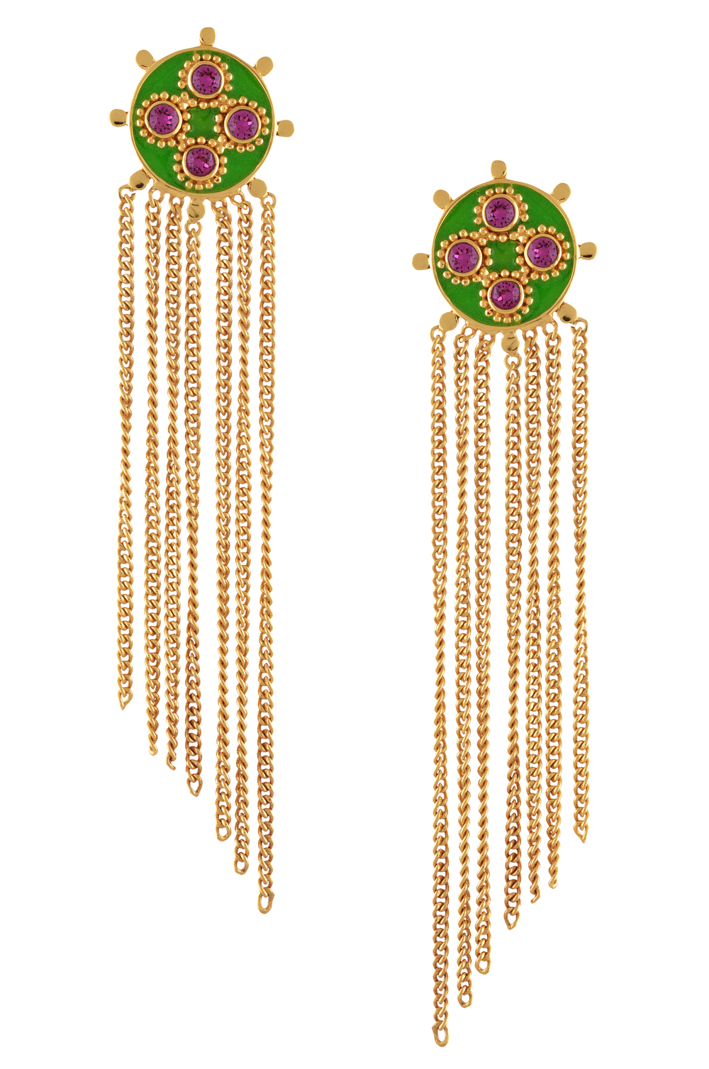 Lyra Tassel Earrings