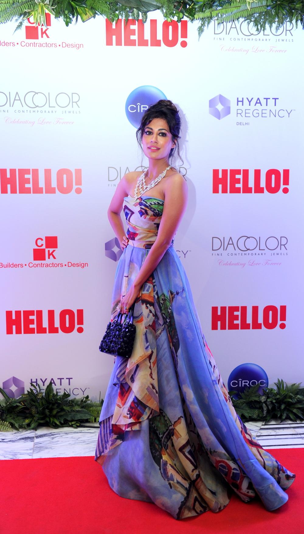 Chitrangada Singh in Diacolor, Gauri & Nainika and Dior