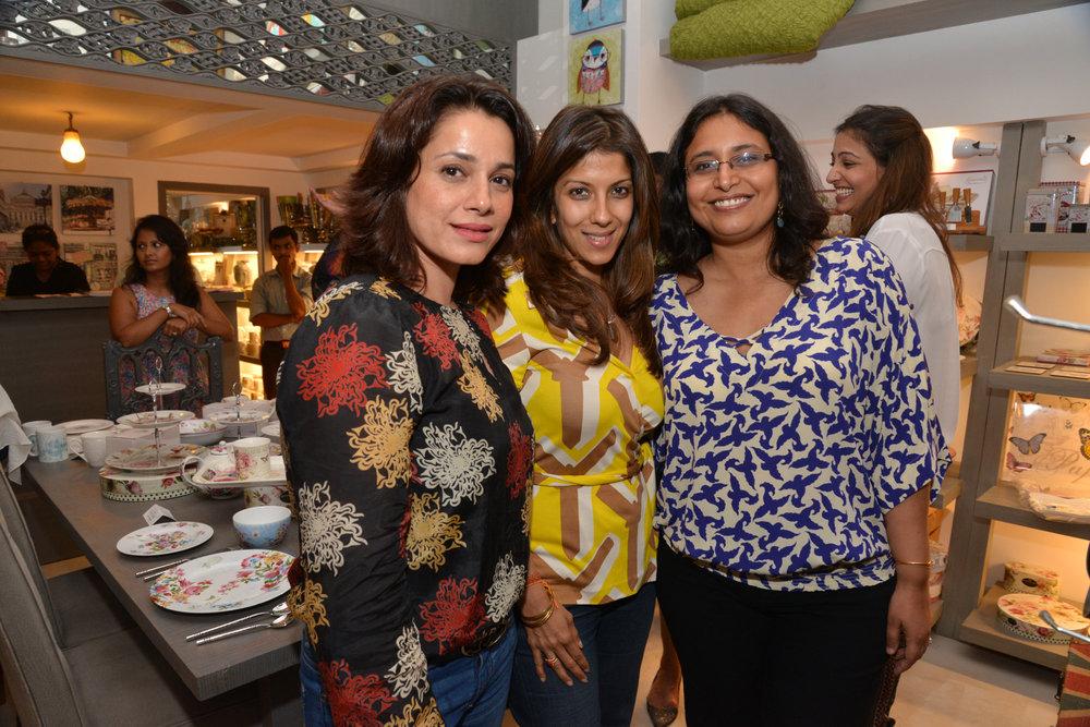Neelam Kothari, Renu Chainani and Sanvari Alagh Nair