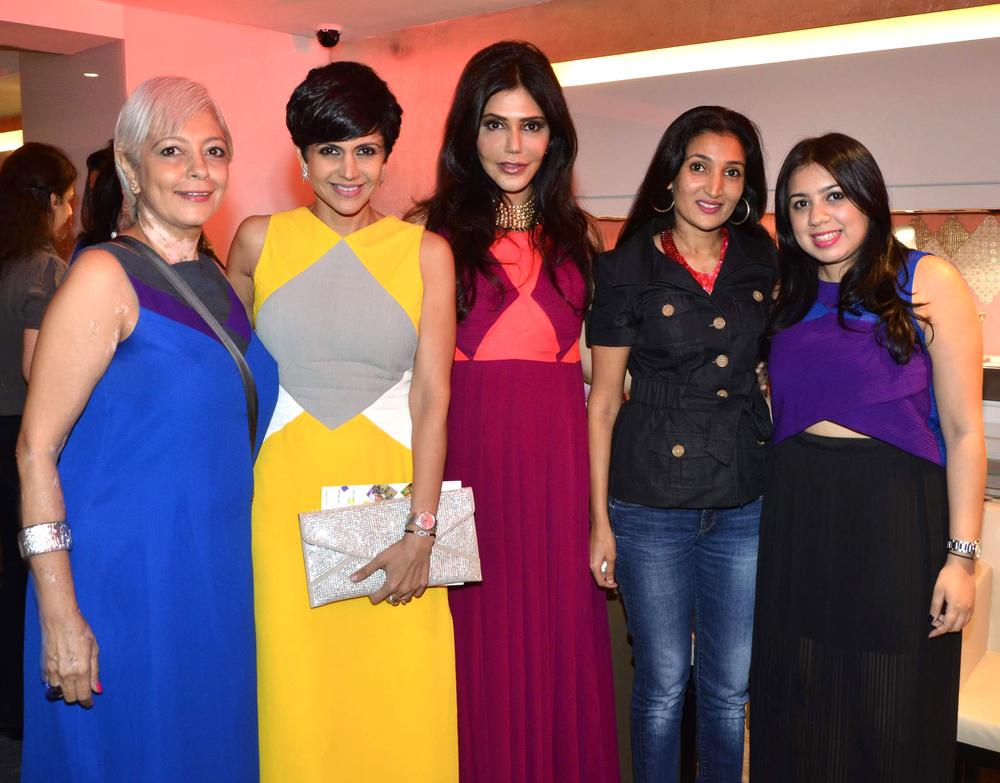 21 Geetu, Mandira, Alisha Chauhan, Veda Raheja, Nisha Jamvwal.JPG