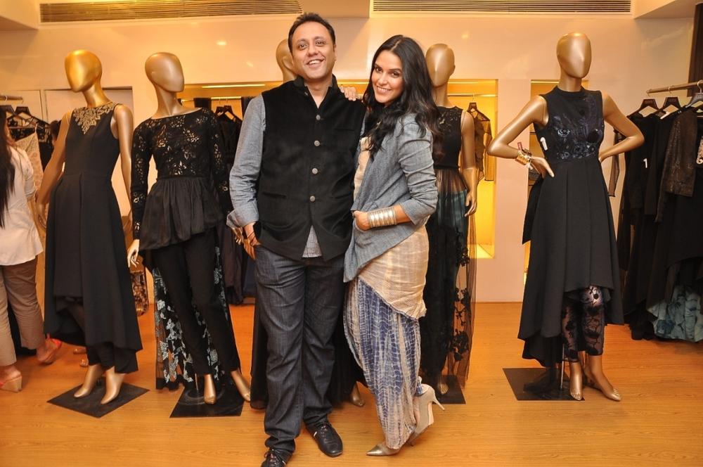 Neha Dhupia & Varun Bahl
