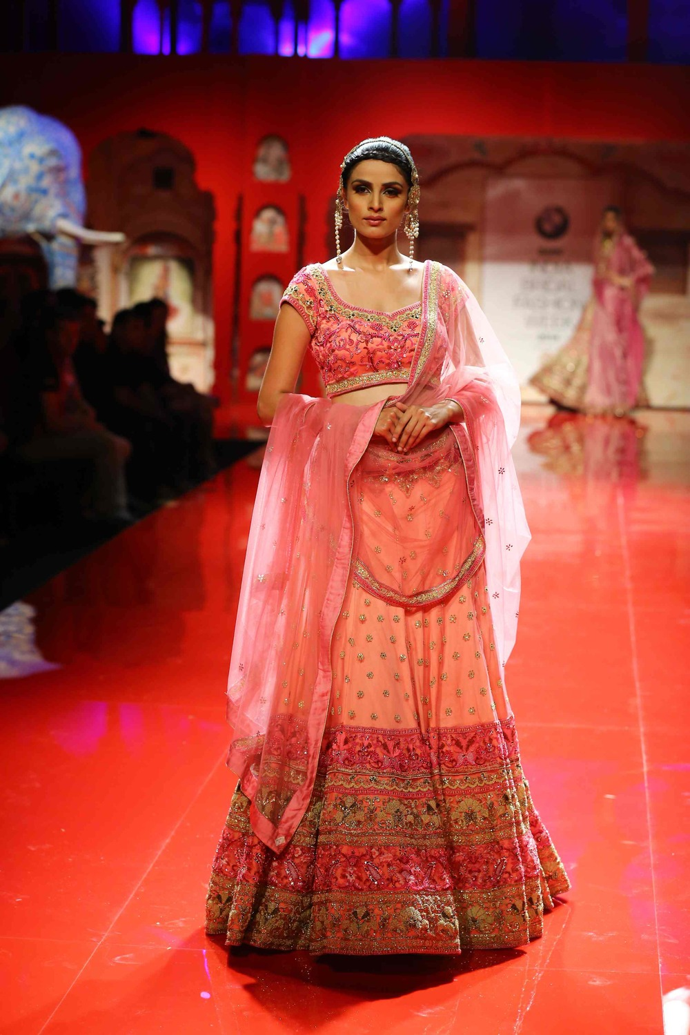 Seen at BMW India Bridal Fashion Week 2014 in association with AZVA at Suneet Varma's show at DLF Emporio (14).jpg