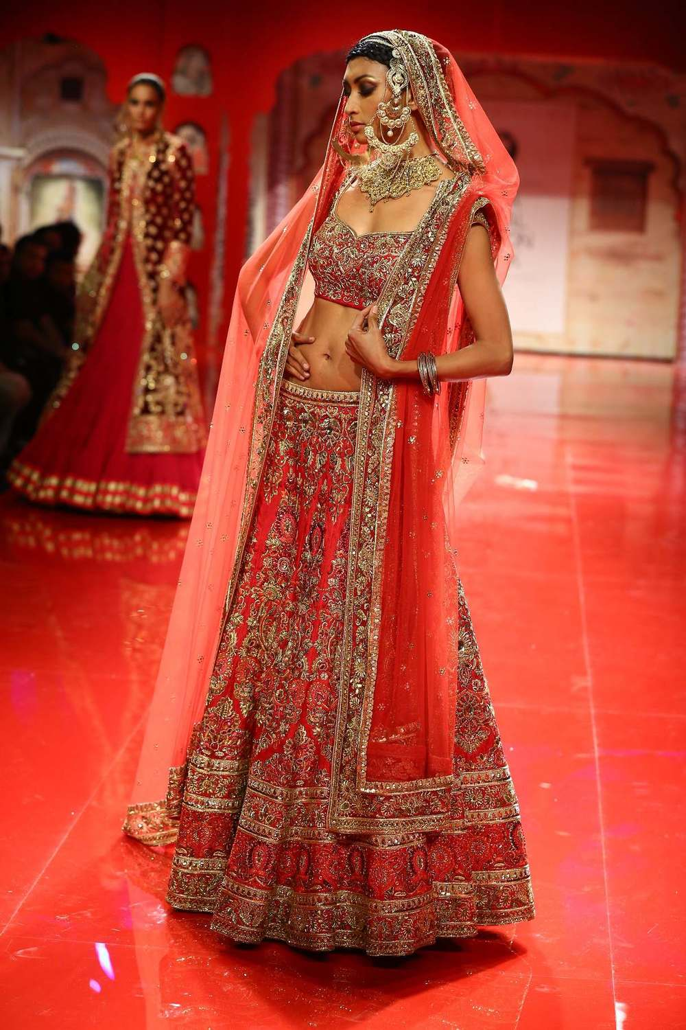 Seen at BMW India Bridal Fashion Week 2014 in association with AZVA at Suneet Varma's show at DLF Emporio (17).jpg