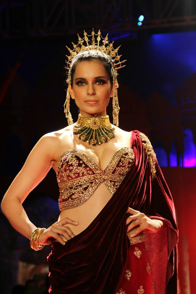 Seen at BMW India Bridal Fashion Week 2014 in association with AZVA at Suneet Varma's show at DLF Emporio (767).jpg