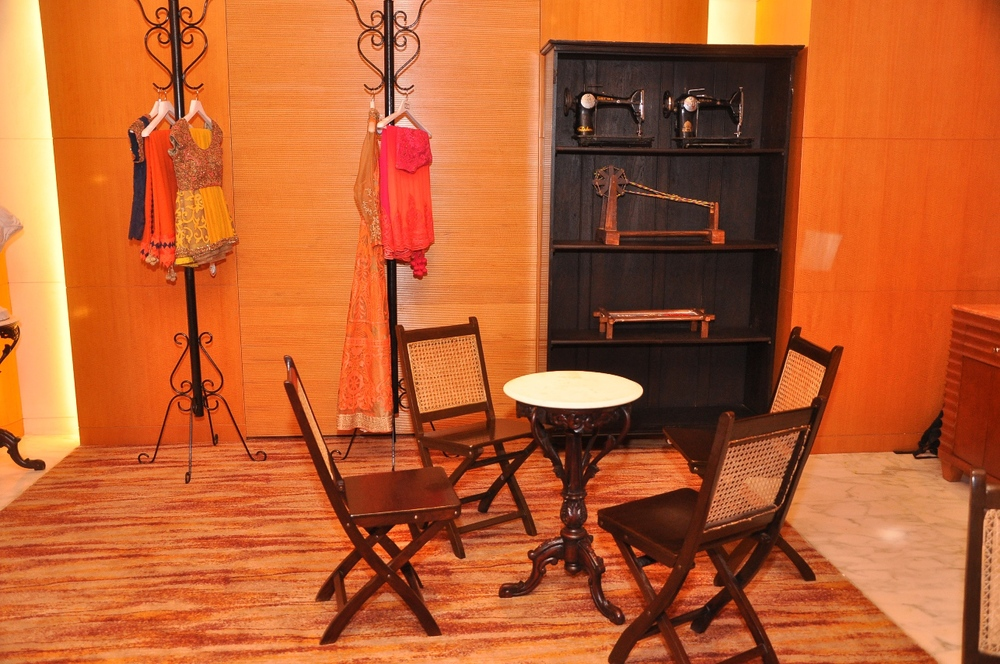 Decor at the launch of OSAA's FW 2014 Collection at Four Seasons.JPG