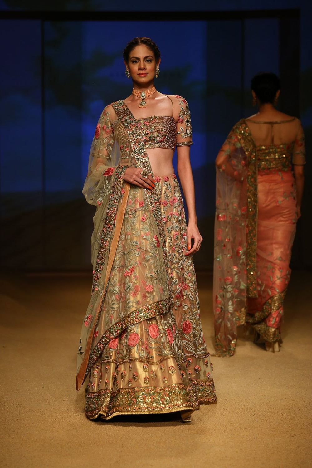 Seen at BMW India Bridal Fahsion Week 2014 in association with AZVA at  Ashima Leena's  show at DLF Emporio (30).jpg
