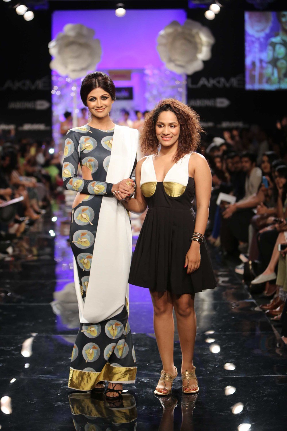 Shilpa Shetty for Masaba Gupta