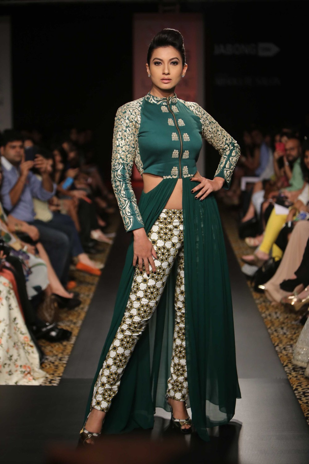 Gauhar Khan for Sonam & Paras Modi