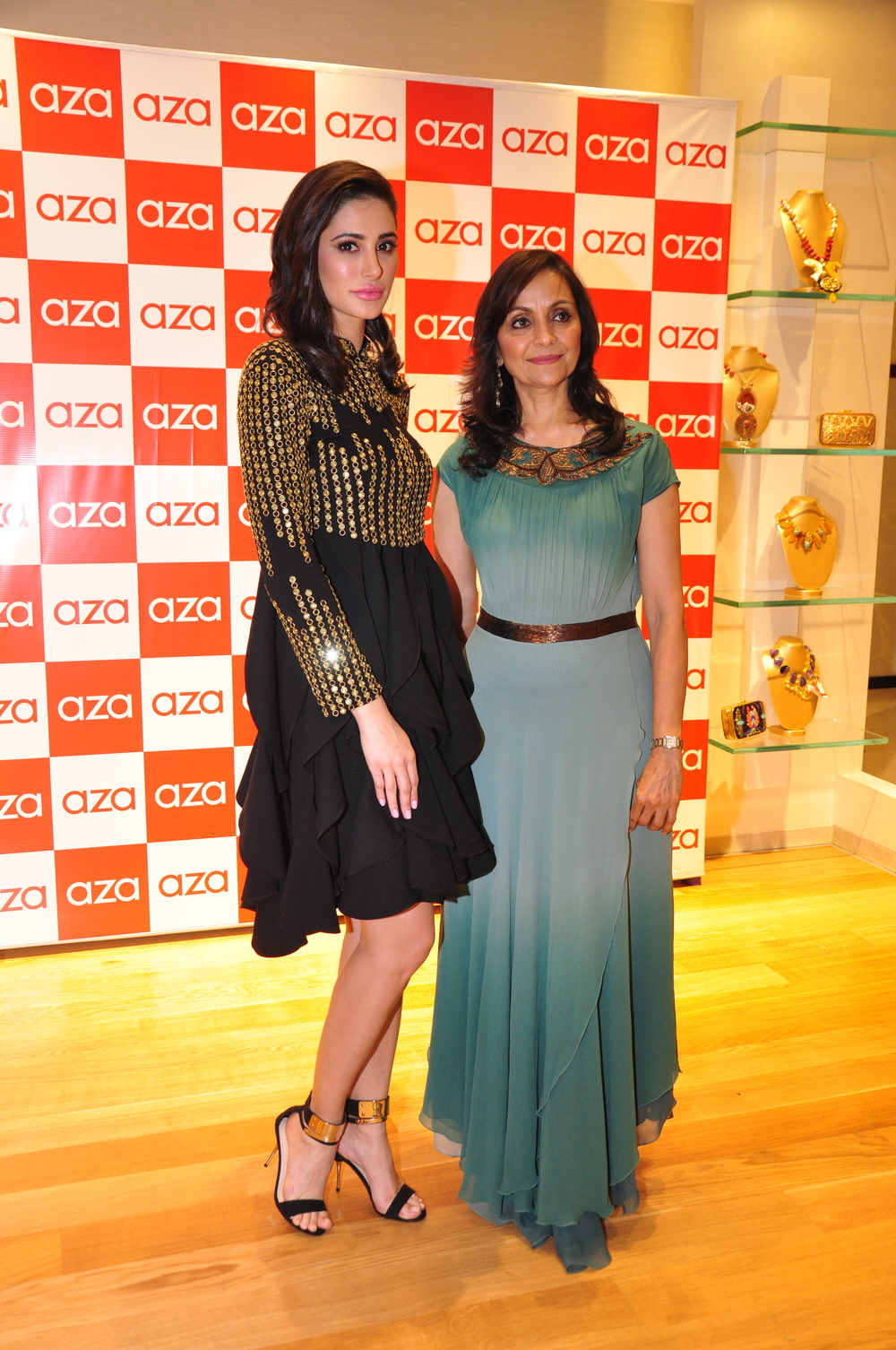 Alka Nishar and Nargis Fakhri