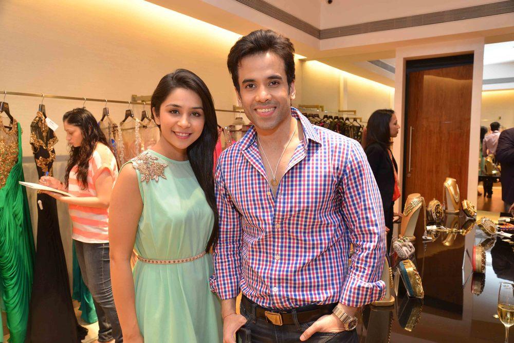 Sonaakshi Raaj with Tusshar Kapoor
