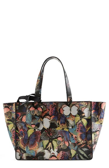 Valentino 'Camu Butterfly' Leather Tote