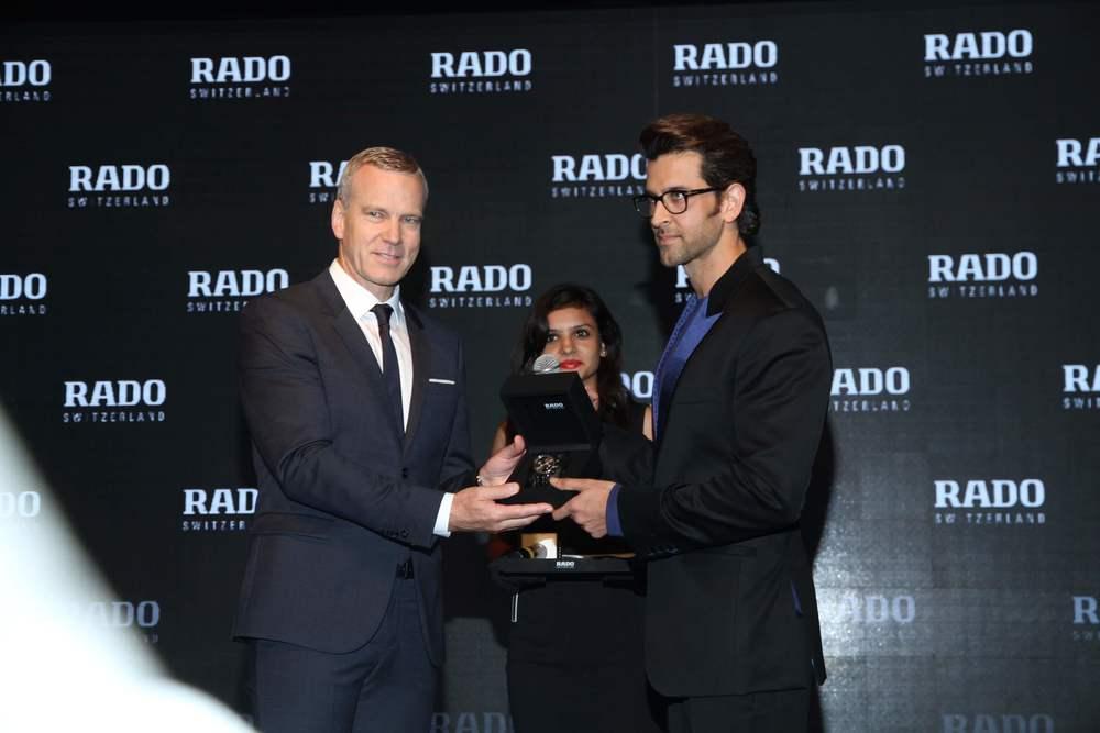 Mr Matthias Breschan, CEO RADO & Mr Hrithik Roshan- Brand Ambassador RADO .jpg