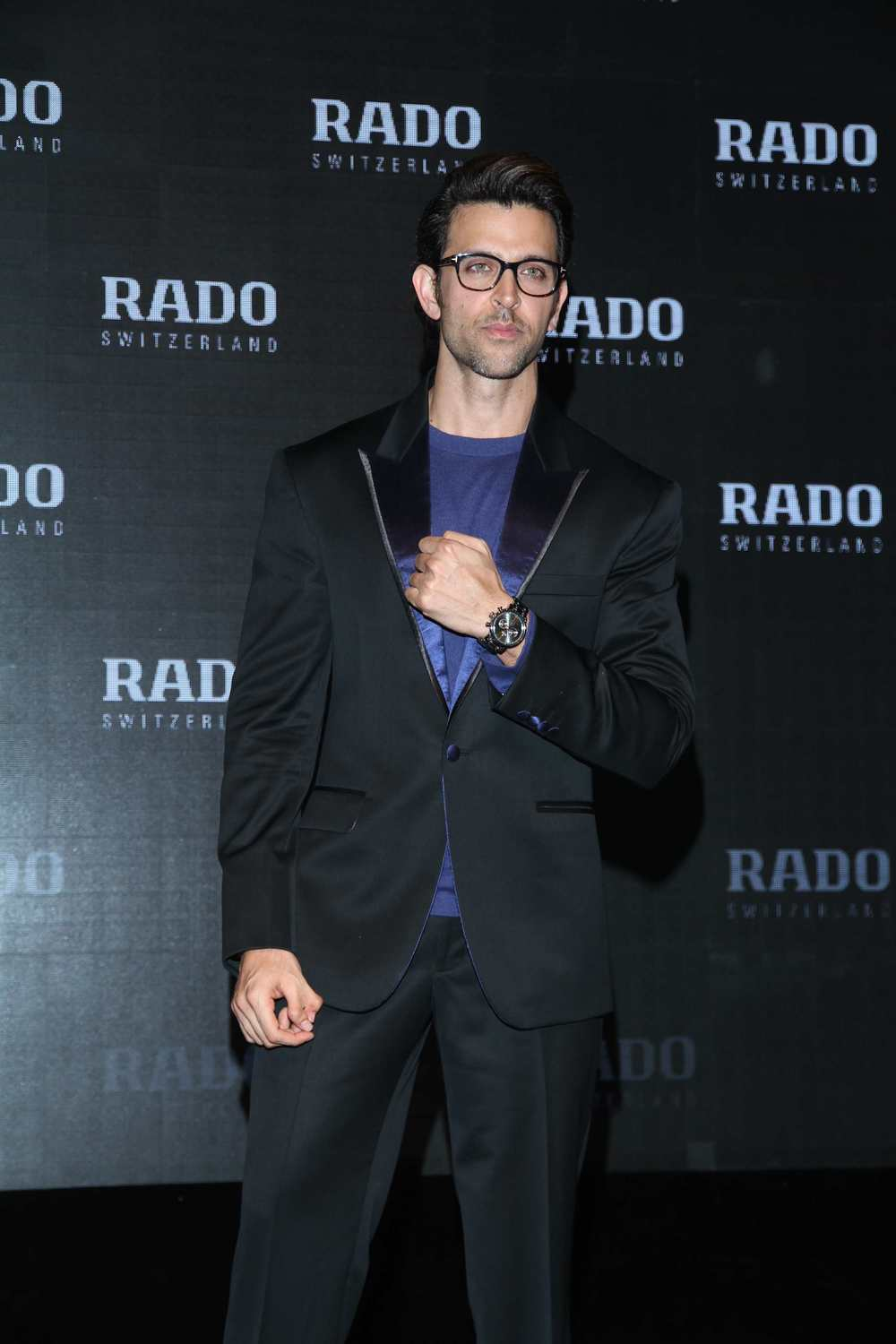 Hrithik Roshan launches the RADO Dia-master collection over a cocktail evening.jpg