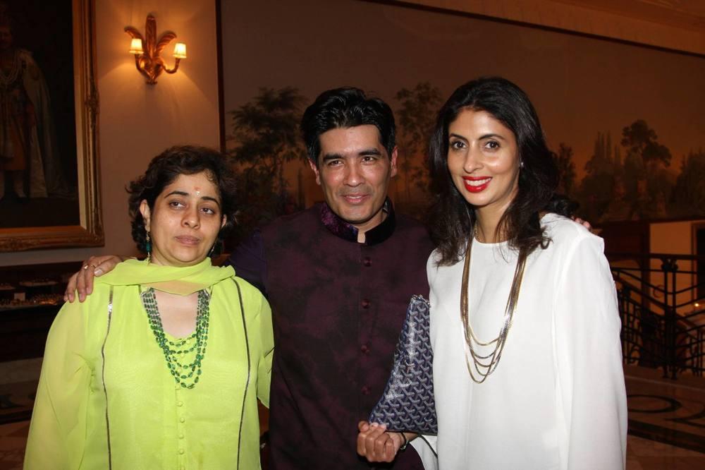 Natasha Nanda, Manish Malhotra and Shweta Nanda