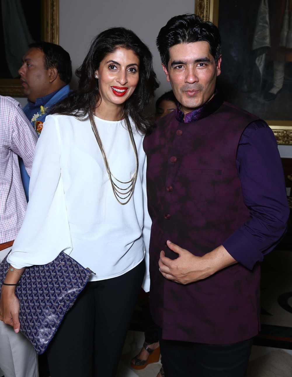 Shweta Nanda with Manish Malhotra