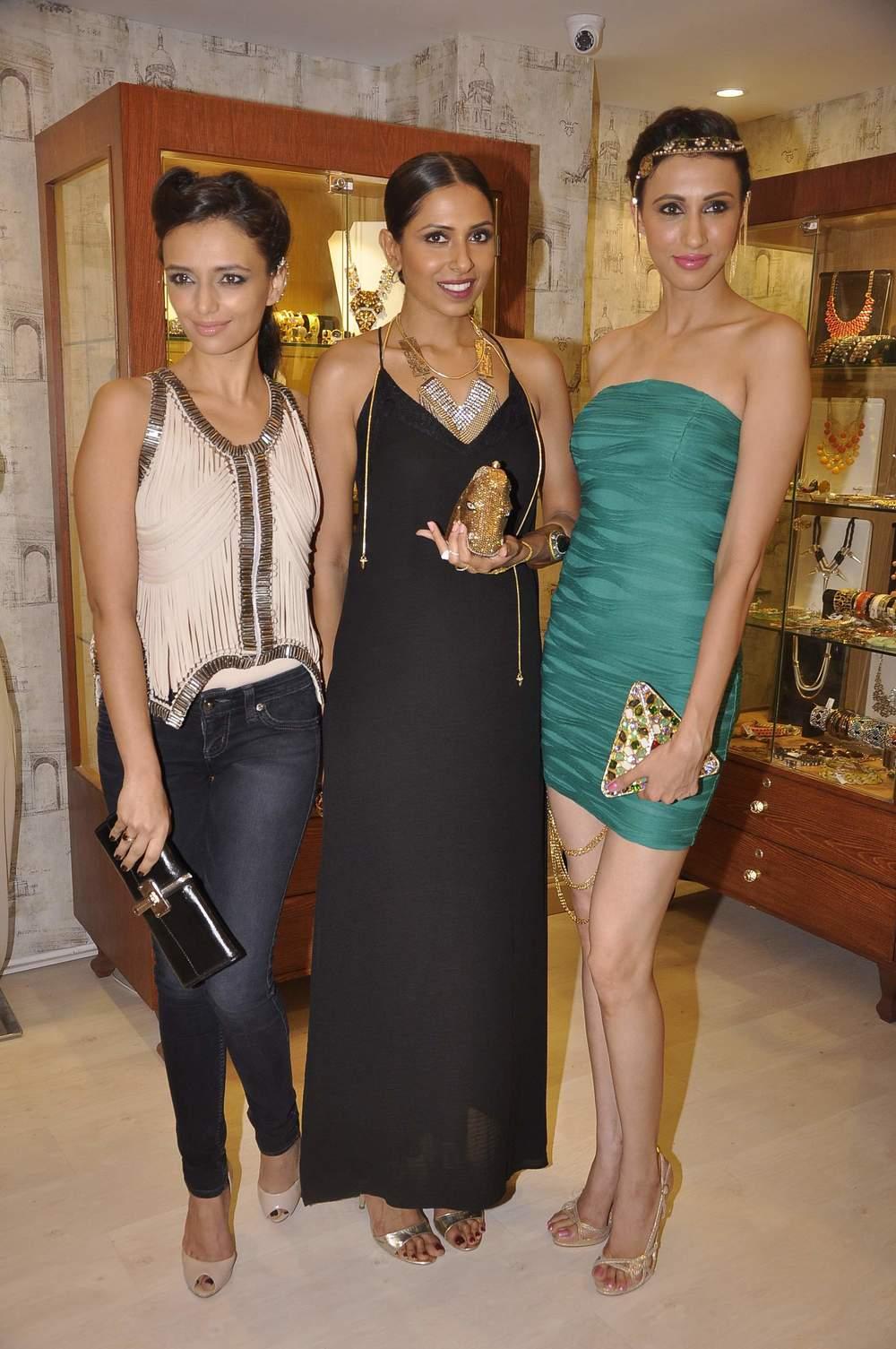 Candice Alesia and Roshni Chopra in Bansri Jewels