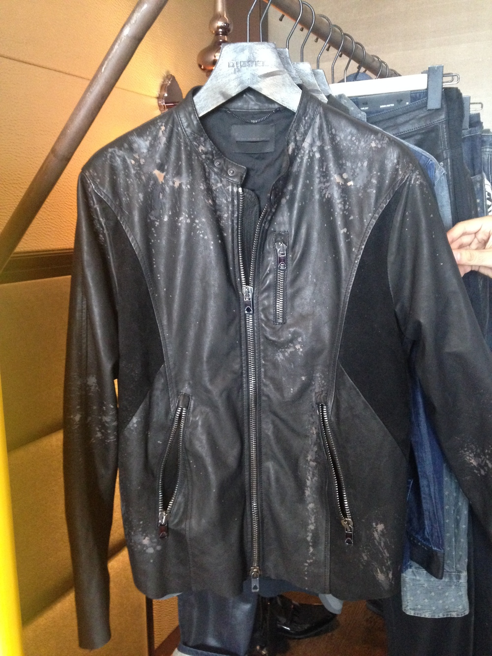 Fell in love with this jacket from DIESEL Black Gold