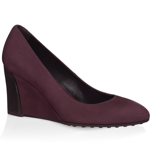 Wedge Pumps In Nubuck