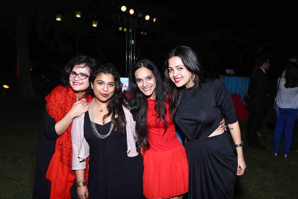 Vasudha Rai, Ami Unnikrishnan, Meghna Malik and Samiya